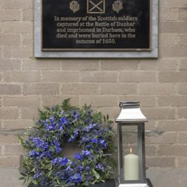 Commemorating the Scottish soldiers